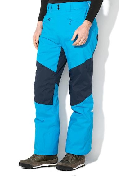 The North Face Pantaloni cu model colorblock, pentru schi Presena Barbati