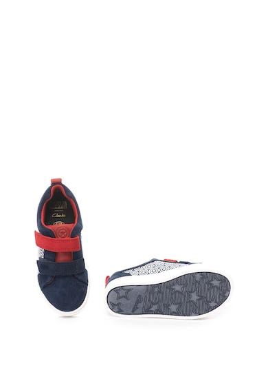 Clarks Спортни обувки City Hero Captain America с велур Момичета
