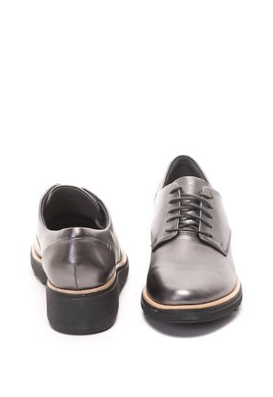 Clarks Pantofi derby de piele Sharon Noel Femei