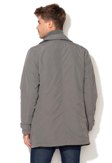 United Colors of Benetton Enyhén bélelt dupla gombsoros kabát férfi