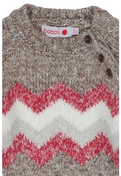 boboli Pulover tricotat cu imprimeu Baieti
