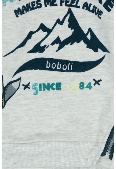 boboli Bluza sport cu imprimeu grafic Baieti