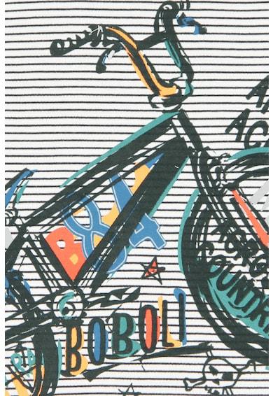 boboli Bluza in dungi cu imprimeu grafic Baieti