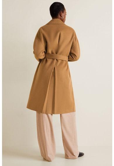 Mango Palton supradimensionat din amestec de lana Batin Femei
