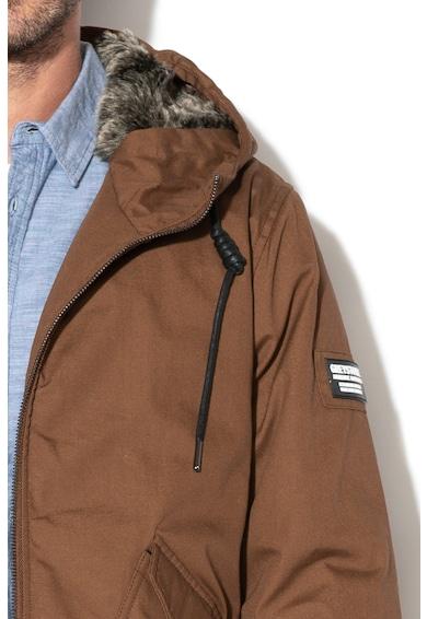 Greystone Bélelt télikabát kapucnival férfi