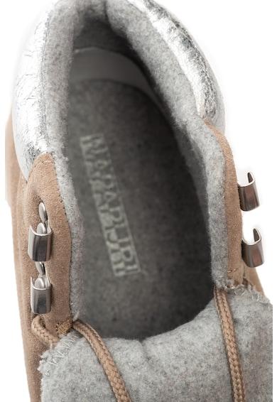 Napapijri Rabina nyersbőr és bőr sneakers cipő női