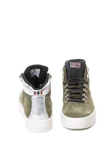 Napapijri Dahlia középmagas szárú nyersbőr sneakers cipő női