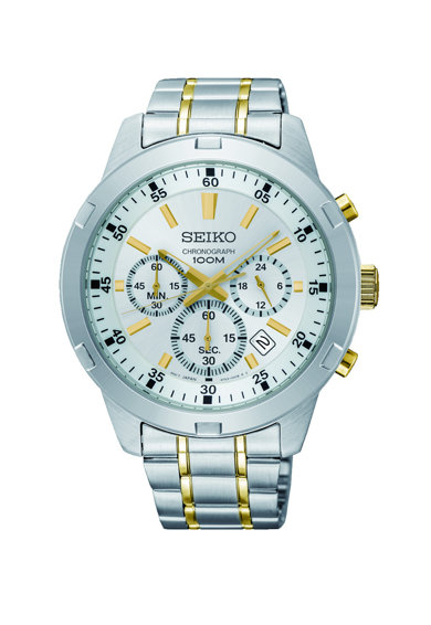 Seiko Часовник с метална верижка Мъже