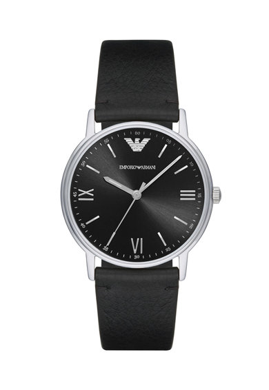 Emporio Armani Часовник Kappa с кожена каишка Мъже