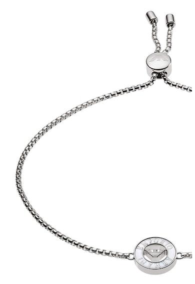 Emporio Armani Rozsdamentes acél karkötő gyöngyökkel díszítve női