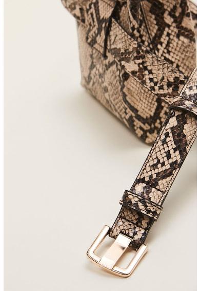 Mango Чанта за кръста Pocket от еко кожа Жени