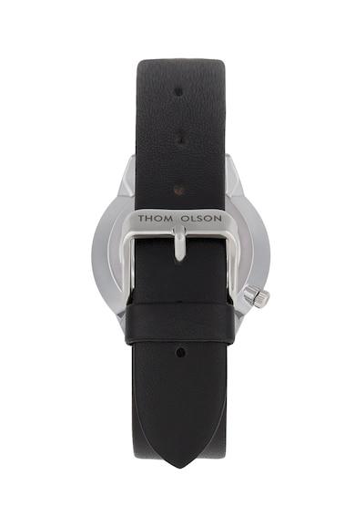 THOM OLSON Часовник с кожена каишка Жени