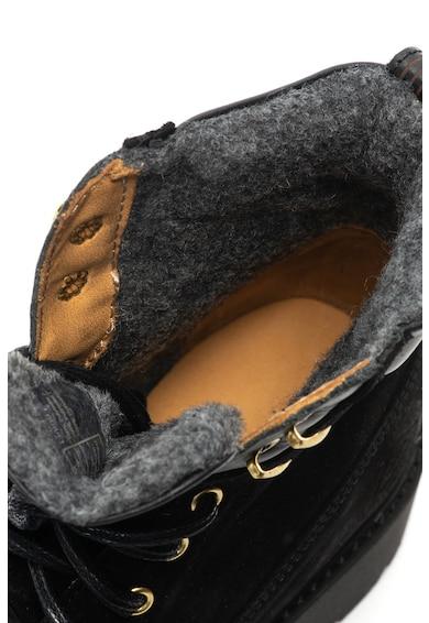 Gant Casey nyersbőr bakancs bőr részletekkel női