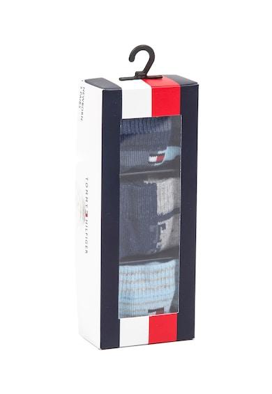 Tommy Hilfiger Set de sosete cu model - 3 perechi Fete