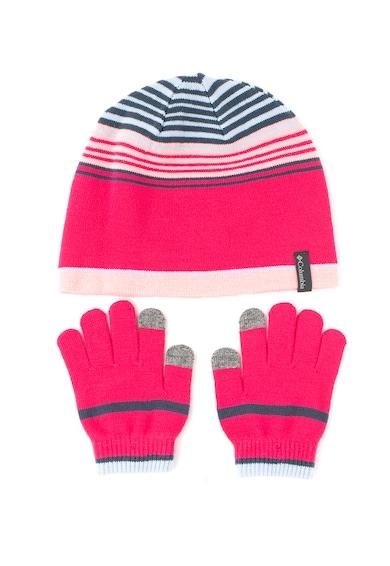 Columbia Шапка и ръкавици - 2 части Момичета