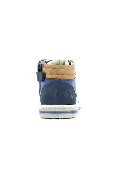 Mod8 kids Pantofi sport mid-high de piele si piele intoarsa Baieti