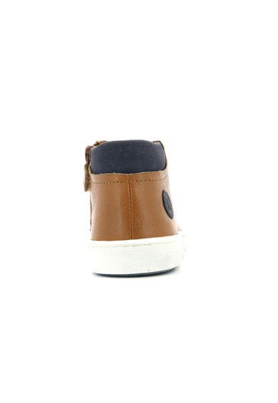 Aster kids Pantofi mid-high de piele Baieti