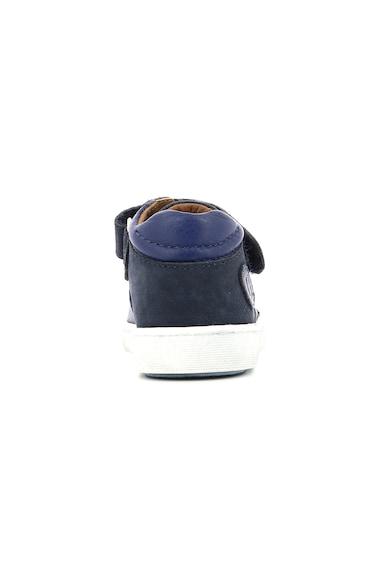 Aster kids Pantofi sport de piele cu velcro Baieti