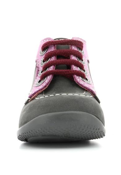 Kickers kids Спортни обувки от набук с връзки Момичета
