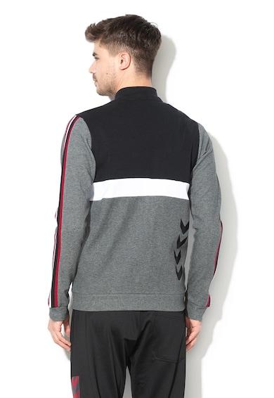 Hummel Lace cipzáras pulóver kontrasztos részletekkel férfi