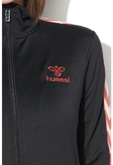 Hummel Nelly cipzáros pulóver hímzett logóval női