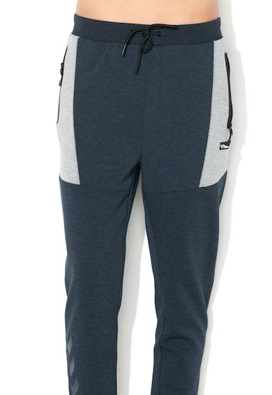 Hummel Pantaloni sport cu buzunare cu fermoar Crimson Barbati