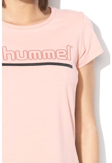 Hummel Tricou cu imprimeu logo Perla Femei