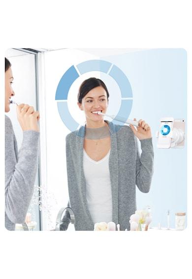 Oral-B Periuta de dinti electrica  Genius 10, Smartring, 6 programe, 4 capete, Bluetooth, Li-ion, Trusa de calatorie Femei