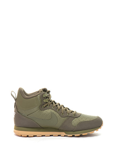 Nike Pantofi sport mid-high din piele ecologica si panza Md Runner 2 Barbati