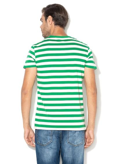 Haily's Раирана тениска Malik с джоб на гърдите Мъже