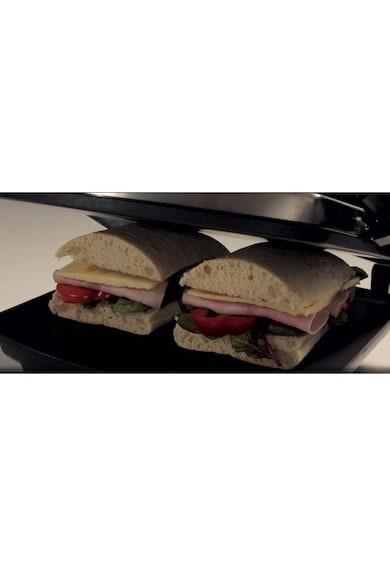 Breville Сандвич тостер  Panini , 1000 W, Незалепващи плочи, Черен/Инокс Жени