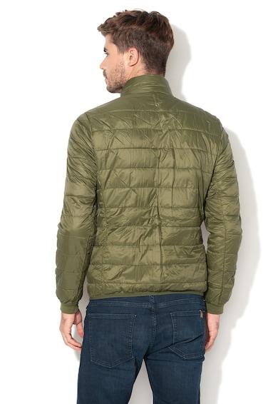 United Colors of Benetton Kapucnis parka kabát kivehető steppelt dzsekivel férfi