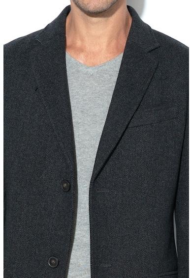 United Colors of Benetton Gyapjú tartalmú kabát 10 férfi