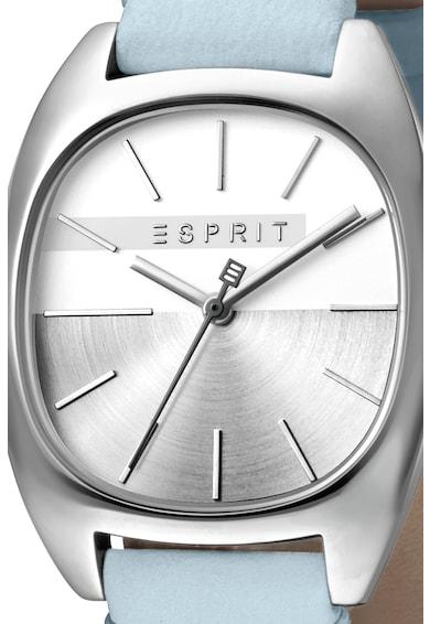 Esprit Часовник Infinity с кожена каишка Жени