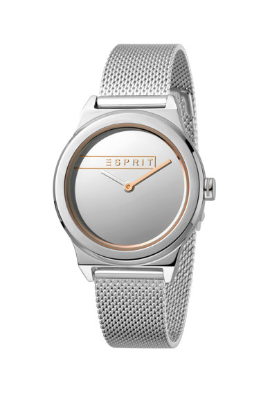 Esprit Ceas cu bratara metalica tip plasa Infinity Femei