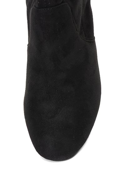 Oakoui Cizme lungi peste genunchi de piele intoarsa sintetica Femei