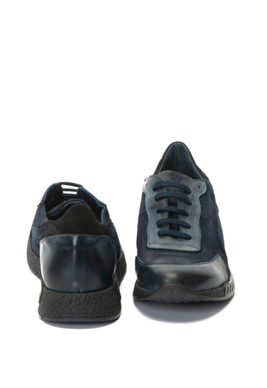 Zee Lane Pantofi sport de piele si piele intoarsa Barbati