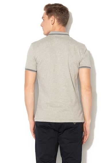 Emporio Armani Piké galléros póló gumis logóval férfi
