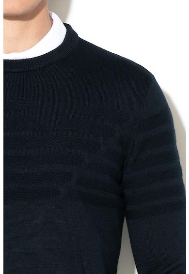 Emporio Armani Пуловер с фина плетка и вълна Мъже