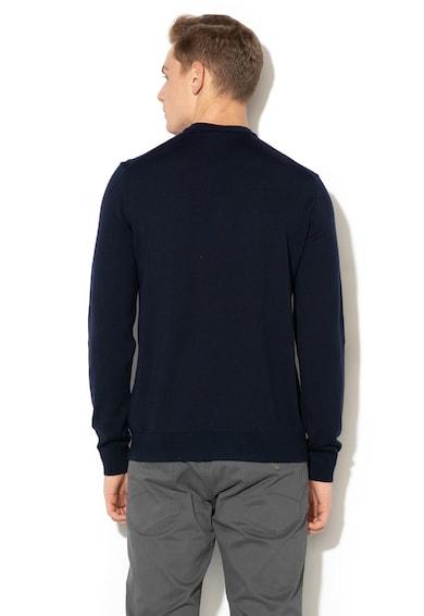 Emporio Armani Пуловер от вълна с шпиц деколте Мъже