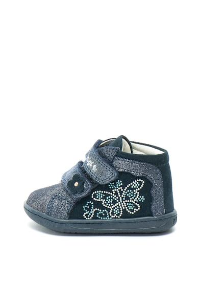 Primigi Велурени спортни обувки с омекотена стелка Момичета