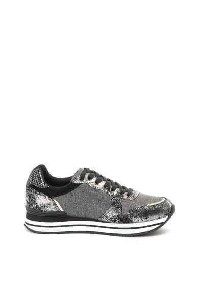 Trussardi Pantofi sport de piele intoarsa cu detalii stralucitoare Femei