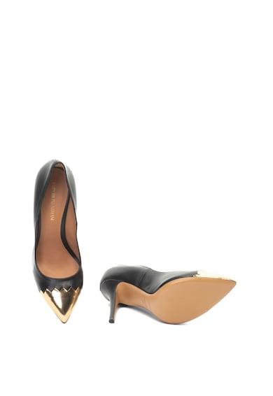 Emporio Armani Hegyes orrú bőrcipő női
