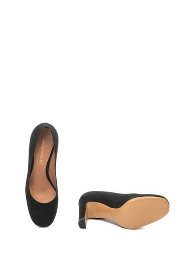 Emporio Armani Велурени обувки с масивен ток Жени