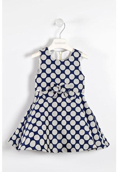Sarabanda Разкроена рокля с вълна и точки Момичета