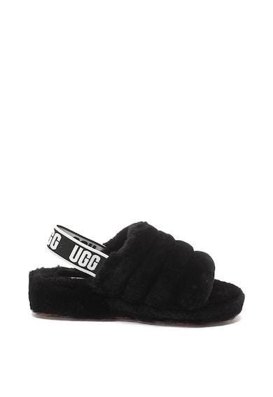 UGG Sandale slingback Fluff Yeah Fur Femei