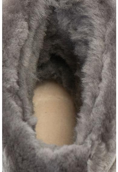UGG Ghete impermeabile, fara inchidere de piele intoarsa Fluff Mini Femei