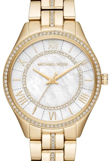 Michael Kors Часовник Lauryn от неръждаема стомана, с кристали Жени