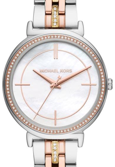 Michael Kors Ceas din otel inoxidabil Cynthia Femei