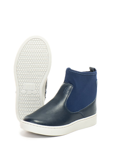bibi kids Pantofi sport mid-high de piele Urban New Baieti